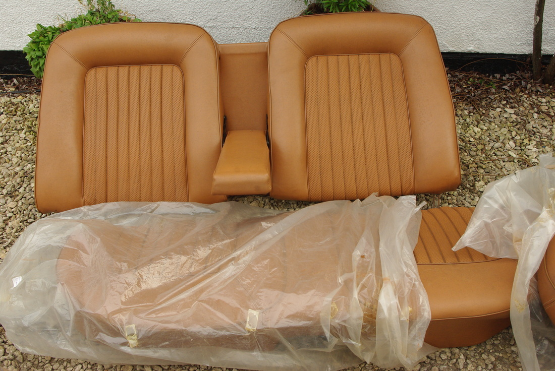 Ford Cortina Mk2 1600E Seats